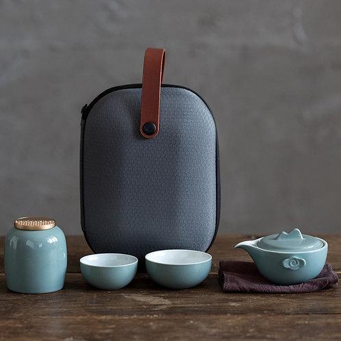 Portable Chinese Tea-ceremony Tea Set Suite, Chinese Tea Set Wholesale
