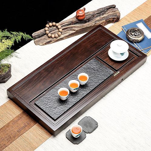 Vintage Wood Tea Tray/Large and Heavy Teaboard, Chinese Tea Set Wholesale