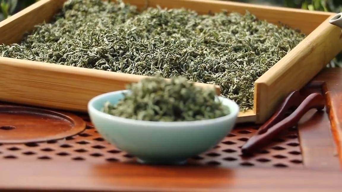 Green Tea in Sichuan