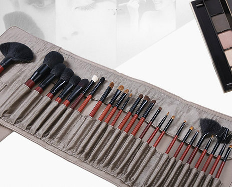 26 Pieces Professional Makeup Brush Set with Cosmetic Case