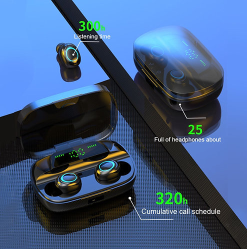 TWS Bluetooth 5.0 Wireless Earbuds
