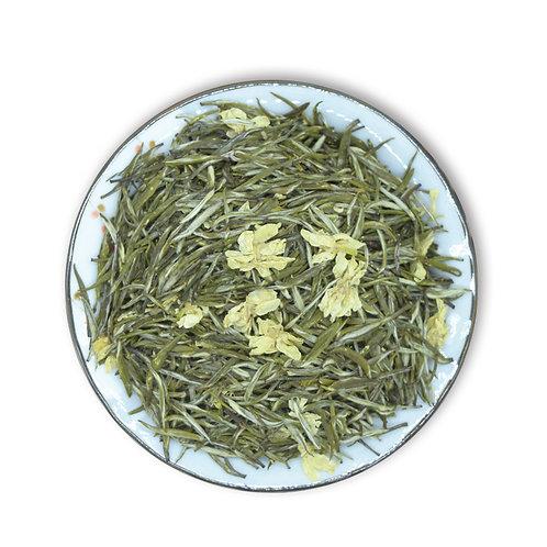 Xue Zhu Piao Xue Tea/Bi Tan Piao Xue Tea, Jasmine Scented Green Tea