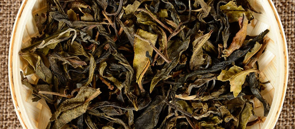Pu'er Old Yellow Leaves
