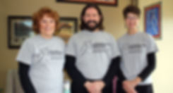 Rena Vink, Kurt Schleyhan and Patricia Reynolds are licensed massage therapists at Advanced Center For Pain And Rehab.