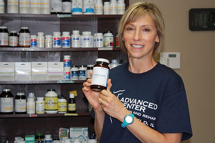 Advanced Center For Pain And Rehab has a wide selection of quality supplements.