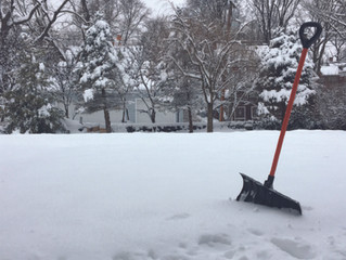 Three tips before you shovel the snow