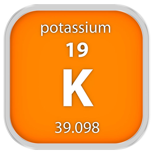 how much potassium in the standard american diet