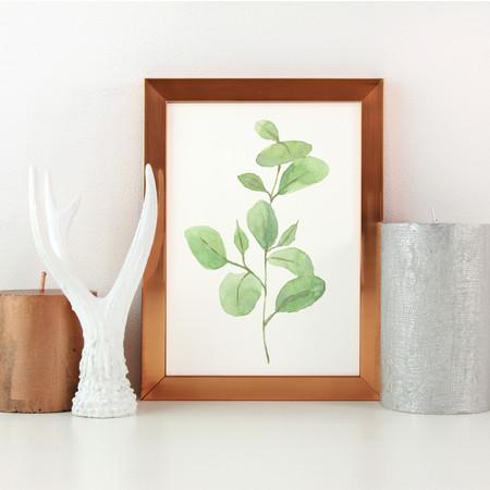 Watercolour Leaf