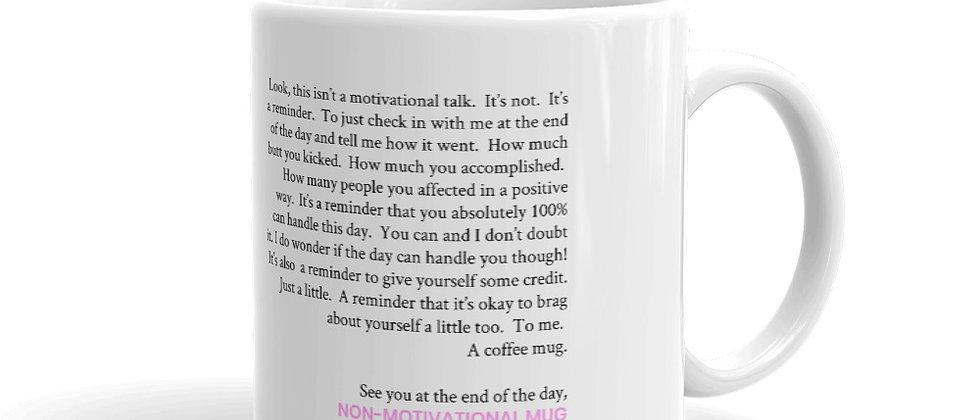 Non-Motivational Mug