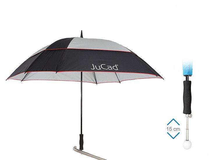 JuCad deštník Square&Windproof s teleskopickým hrotem