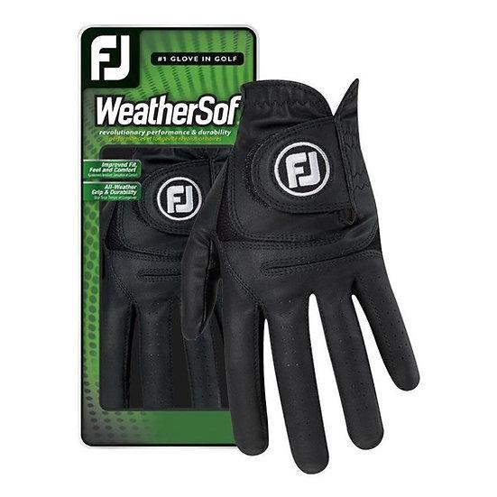 Footjoy WeatherSof glove men black