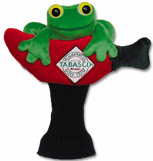 Chiliwear Tabasco Frog putter cover