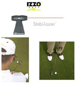 IZZO GOLF Stabi-laser