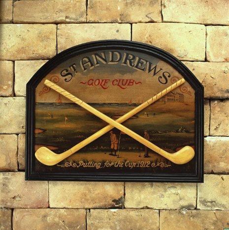 Hornung´s St. Andrews  - obraz s golfovým motivem