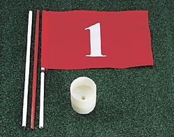 Hornung´s Cup, Flag and Pole Kit