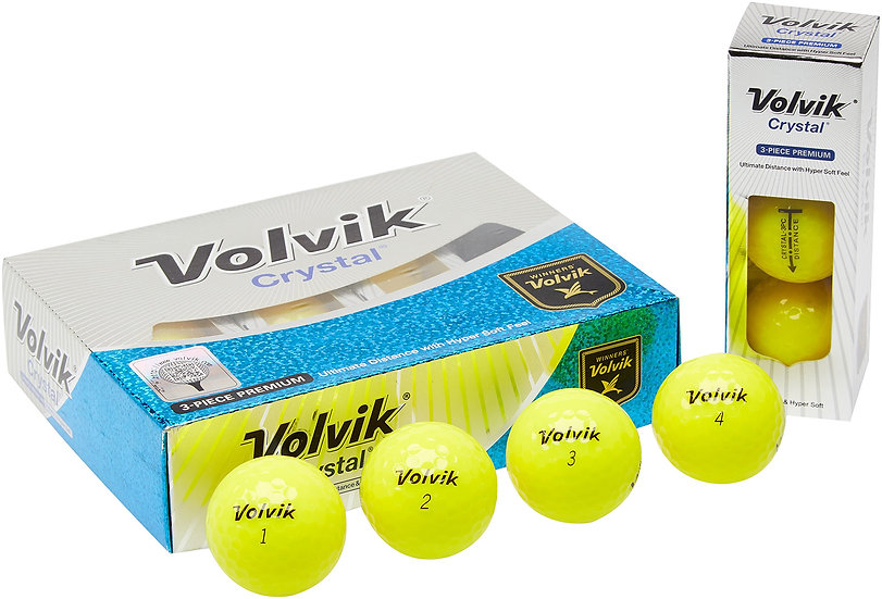 Volvik Crystal yellow