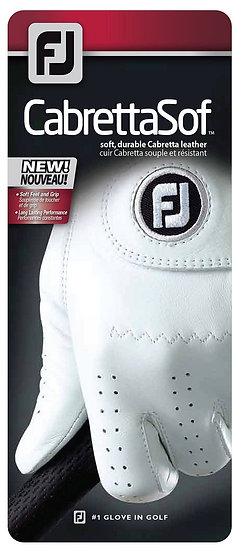 Footjoy CabrettaSof glove men pearl