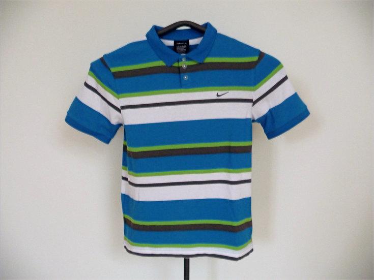 Nike Golf Garcons - dětské golfové triko s límečkem