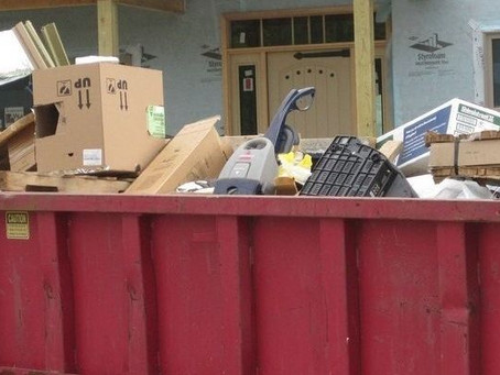 Community Dumpster Day - Tuesday, July 6th