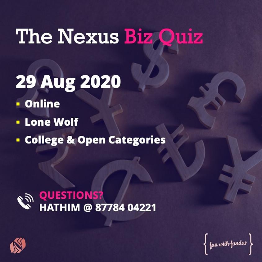 Nexus Biz Quiz