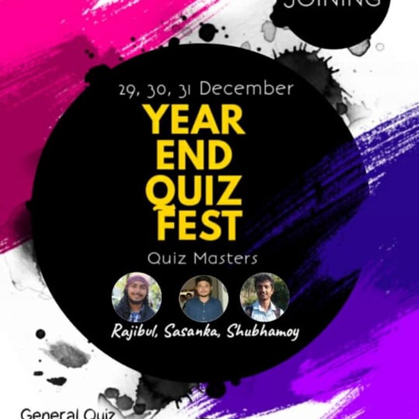 The Year End Quiz Fest