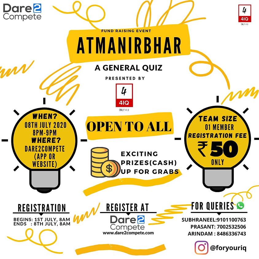 ATMANIRBHAR- A General Quiz