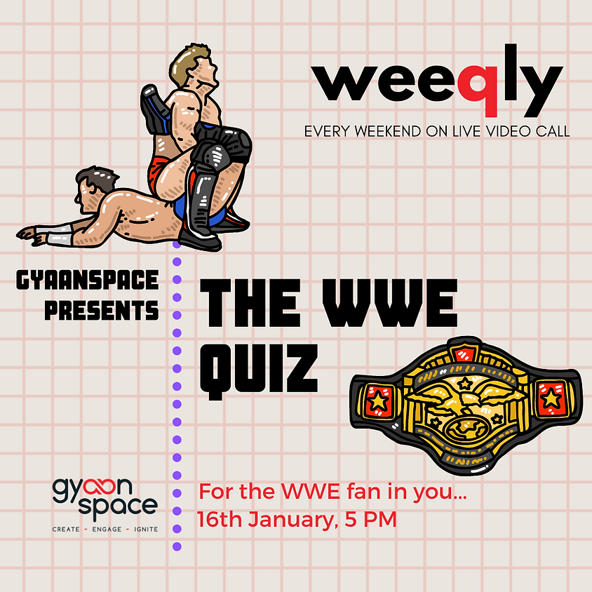 The WWE Quiz Hosted by Arijit Sen