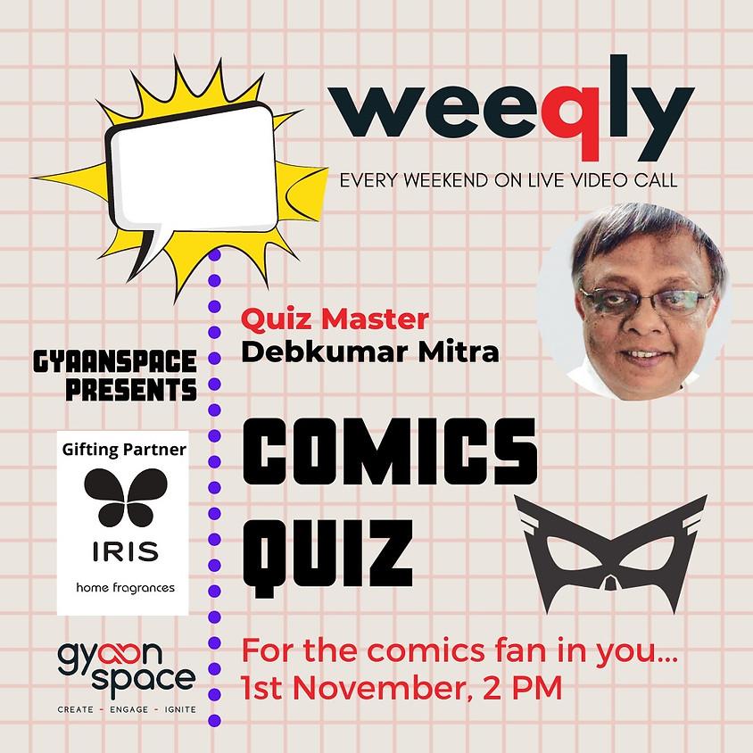 Comics Quiz by Debkumar Mitra