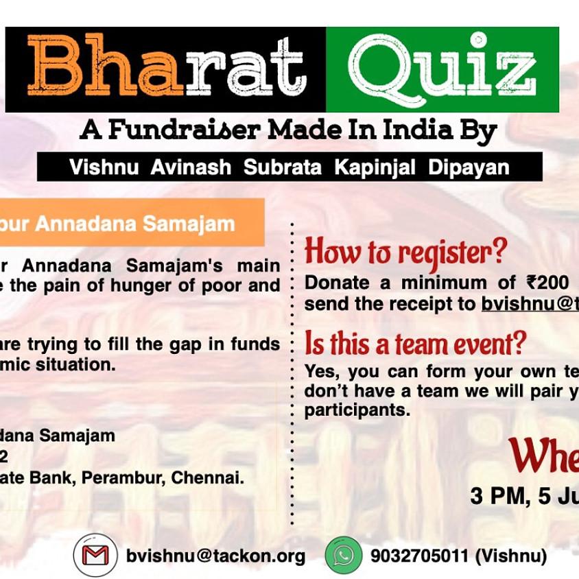 Bharat   A Fundraiser Quiz