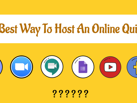 Best Way To Host An Online Quiz