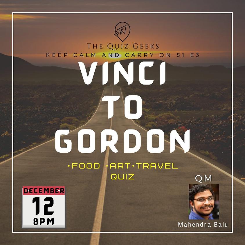 Vinci to Gordon - The Food Art and Travel Quiz