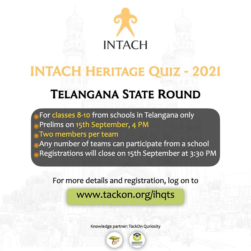 INTACH Heritage Quiz - Telangana Round