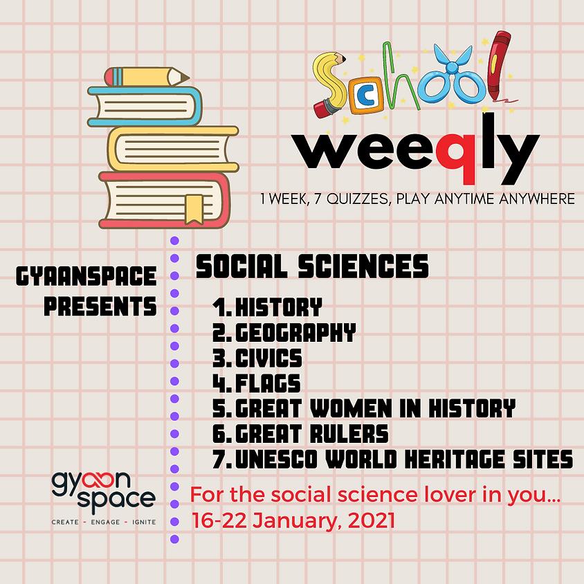 School Weeqly - Social Sciences series