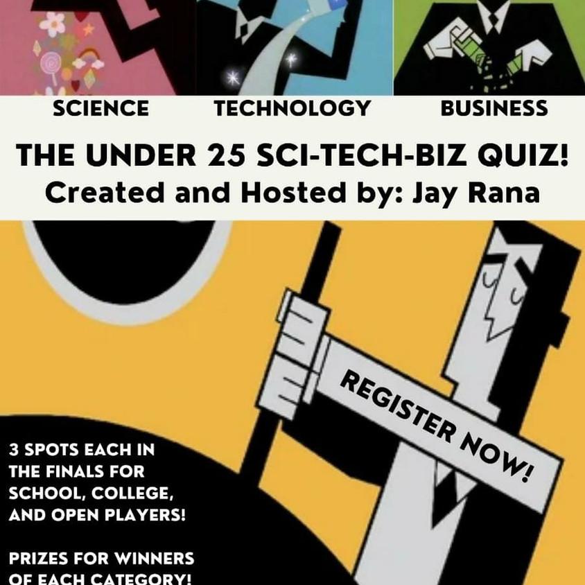 Under 25 Sci-Tech-Biz Quiz!