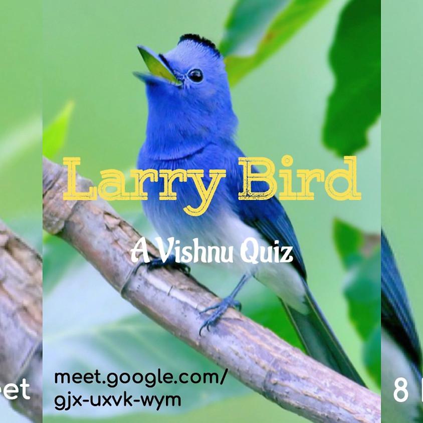 Larry Bird   A Tweet Quiz by Vishnu