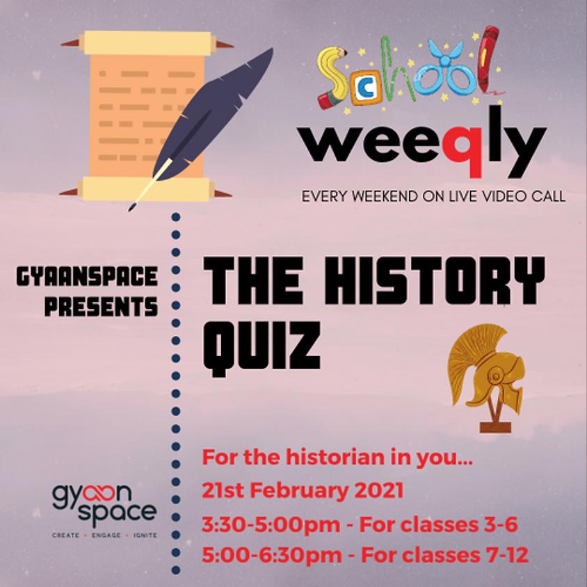 History Quiz For Schools