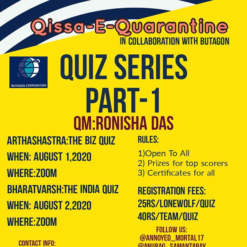 The Biz Quiz By Qissa-E-Quarantine | Open to all