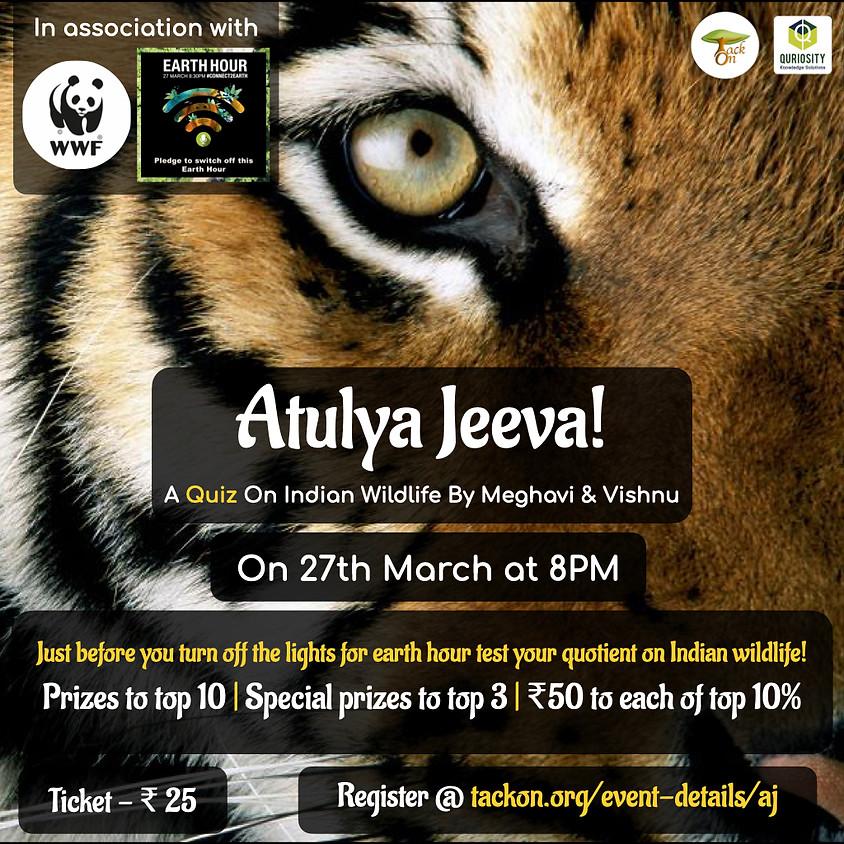 Atulya Jeeva - A Quiz On Indian Wildlife   WWF