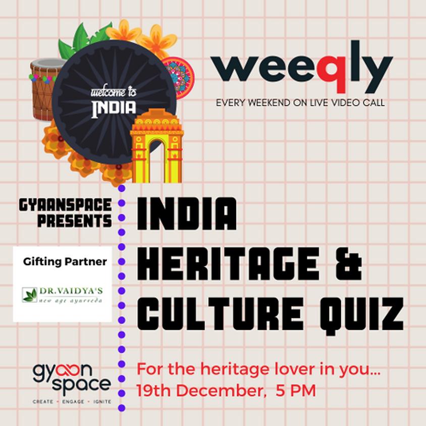 India- Heritage & Culture Quiz