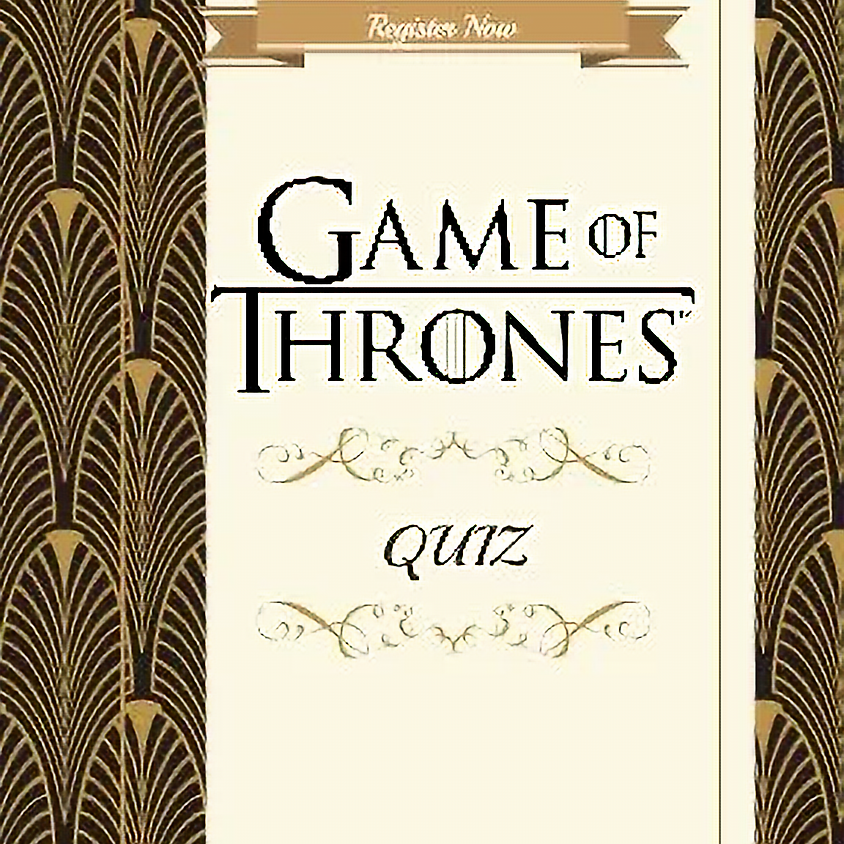 Game of Thrones Quiz
