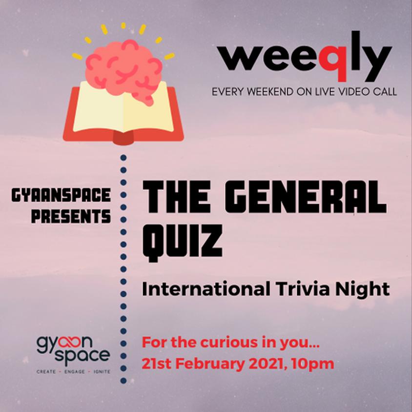 The Genral Quiz International Trivia Night