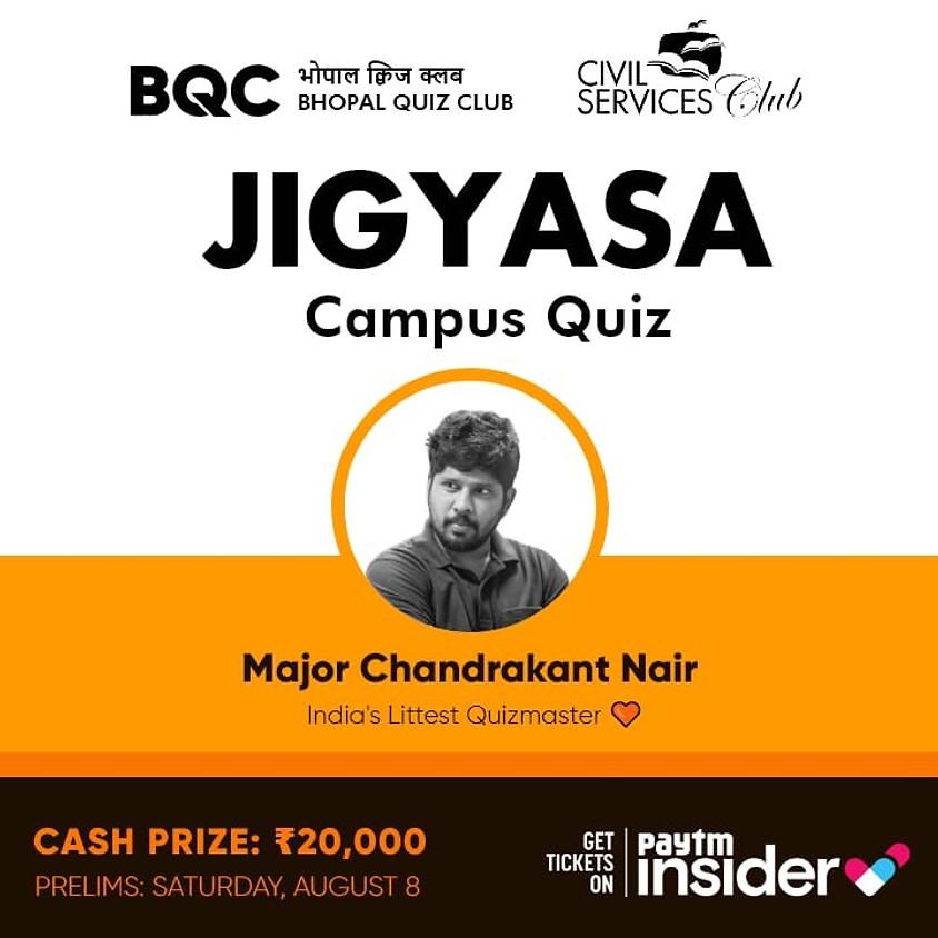Jigyasa Campus Quiz By Major Chandrakant Nair