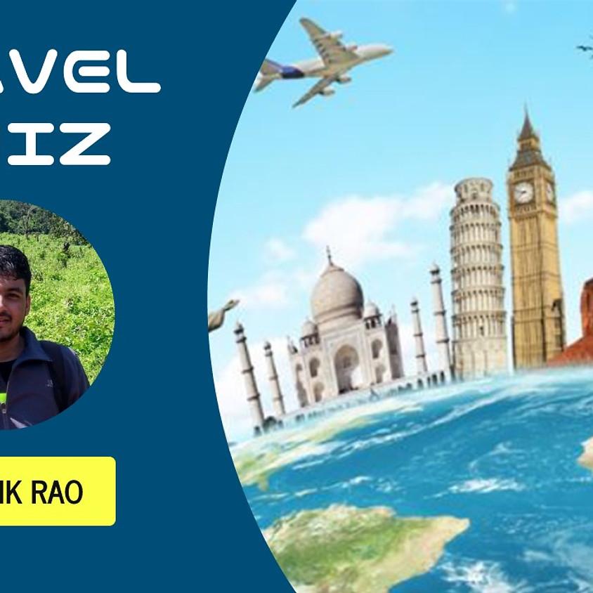 Travel Quiz by Rithwik Rao