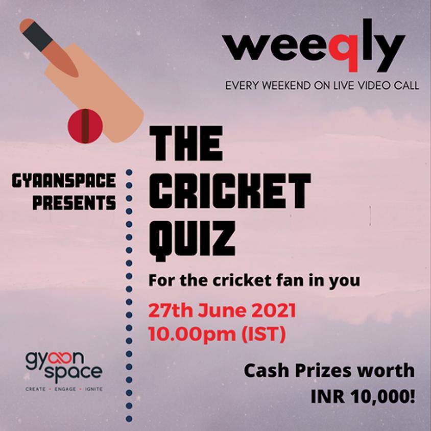 Cricket Quiz | Weeqly