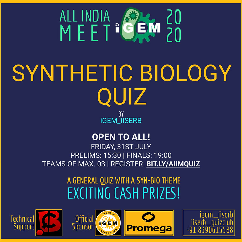 Synthetic Biology Quiz