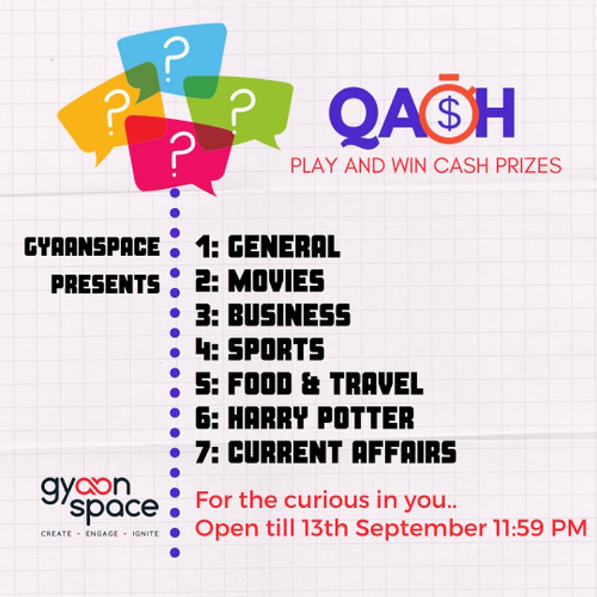 Qash online quiz series. Theme - mixed bag