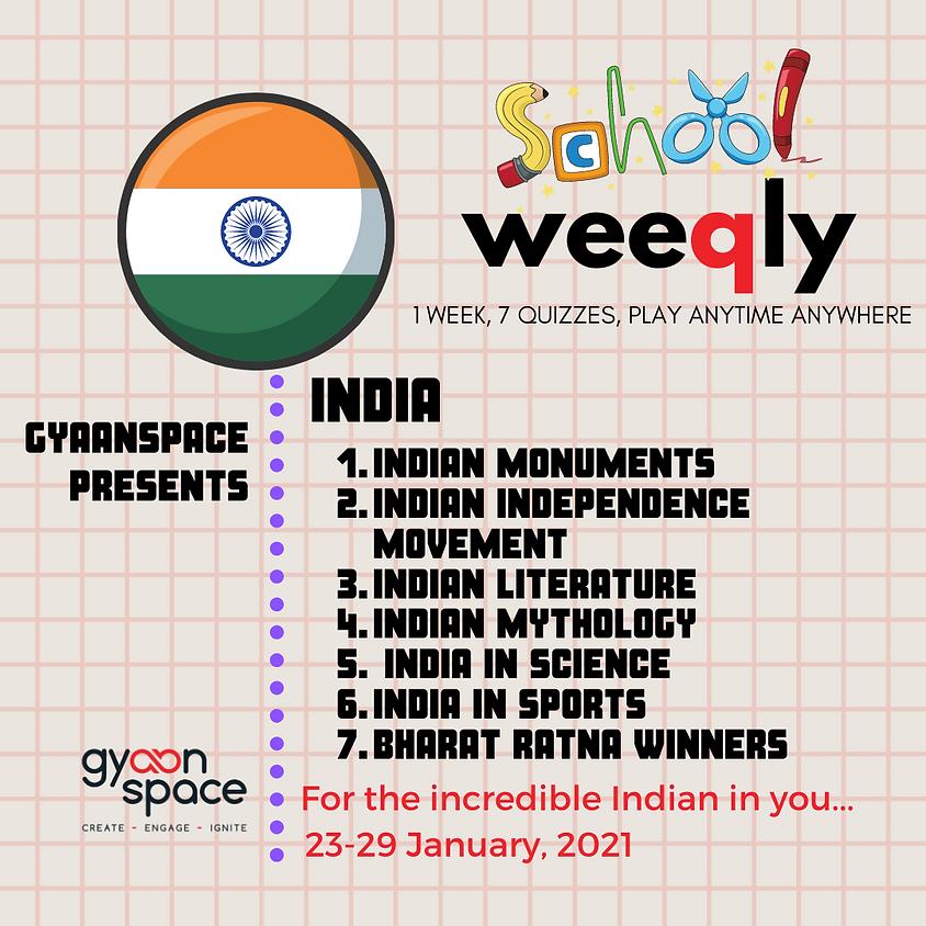 School Weeqly - India series