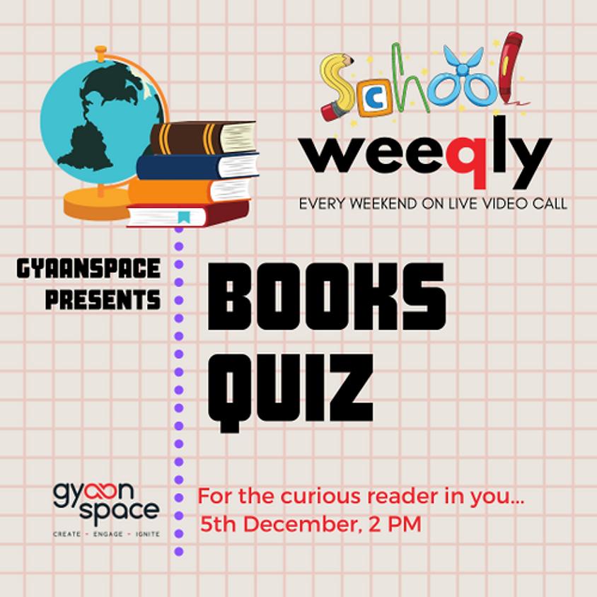 Weeqly School: Books Quiz