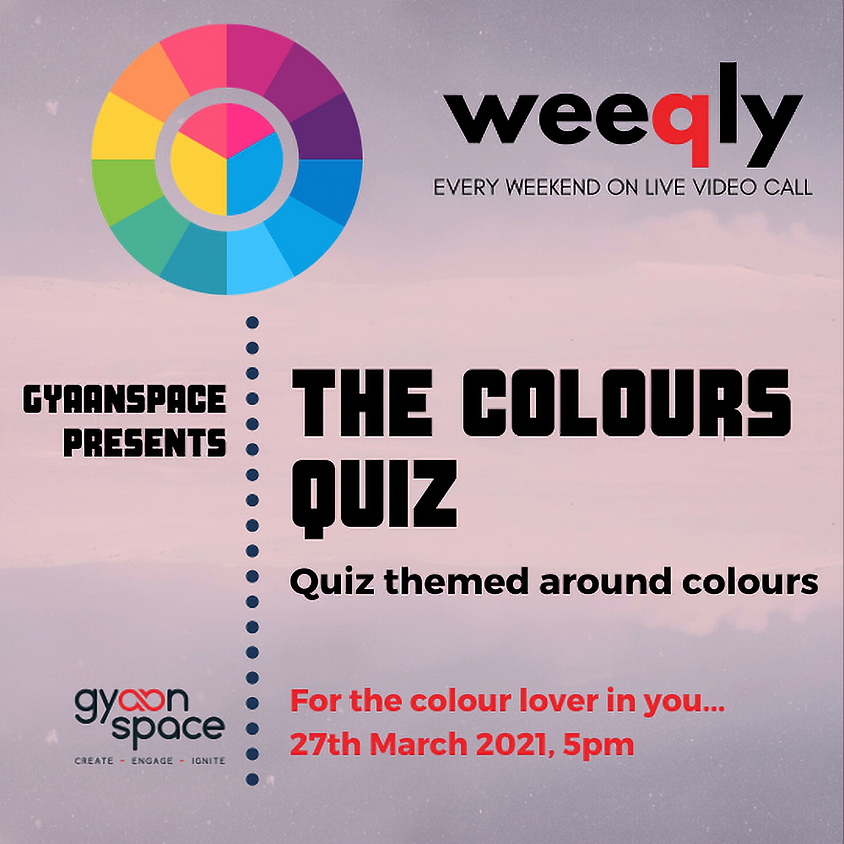 The Colours Quiz (A General Quiz themed on colours)