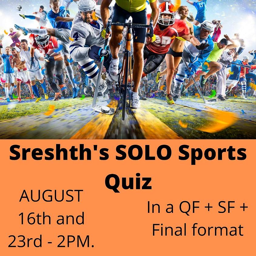 Solo Sport's Quiz by Sreshth